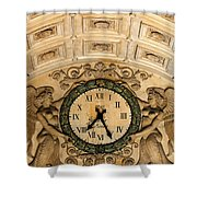 Paris Clocks 2 Shower Curtain by Andrew Fare