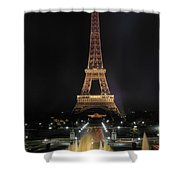 Paris: Eiffel Tower Shower Curtain