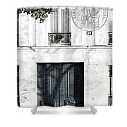 Paris Fiction Shower Curtain
