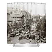 Paris: Les Halles, C1900 Shower Curtain