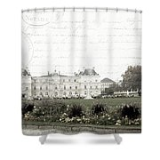 Paris Lore Shower Curtain