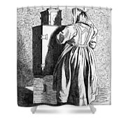 Paris Magic Lantern, C1740 Shower Curtain