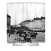 Paris Montparnasse, C1900 Shower Curtain