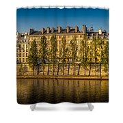 Paris Morning Shower Curtain