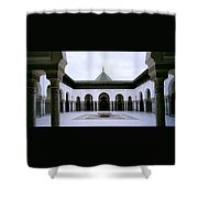 The Paris Mosque Shower Curtain