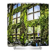 Paris Moss Shower Curtain
