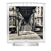 Paris - Old Man Shower Curtain