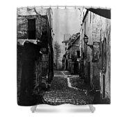 Paris Old Street, C1860 Shower Curtain