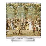 Paris Palais Royal, C1780 Shower Curtain