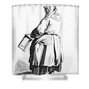 Paris Retailer, C1740 Shower Curtain