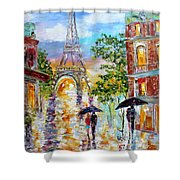 Paris Romance Shower Curtain