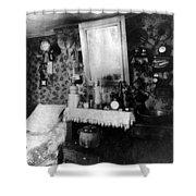 Paris Single Room, C1910 Shower Curtain