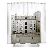 Solitude In Paris Shower Curtain