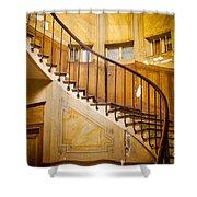 Paris Staircase Shower Curtain