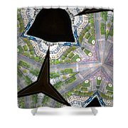 Paris Streets Anew Shower Curtain