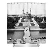 Paris Trocadero, C1900 Shower Curtain