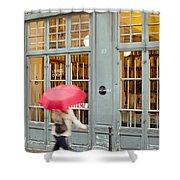 Paris Umbrella Shower Curtain
