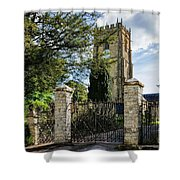 Parish Church Of St Candida And Holy Cross Shower Curtain
