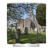 Parish Church St Martin - Jersey Shower Curtain