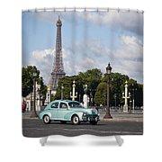 Parisian Charm Shower Curtain