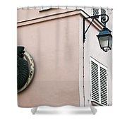 Parisian Corner Shower Curtain
