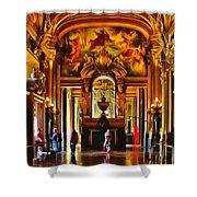 Parisian Opera House Shower Curtain