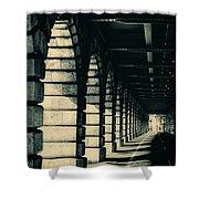 Parisian Rail Arches Shower Curtain