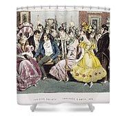 Parisian Salon, 1825 Shower Curtain