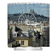 Parisscope Shower Curtain