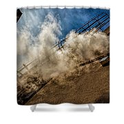 Park Alley Steam Shower Curtain