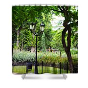 Park And Gardens Shower Curtain