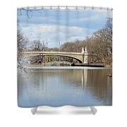 Park Avenue Bridge Shower Curtain