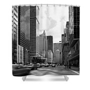 Park Avenue In New York City Shower Curtain