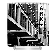 Park... Bw... Detroit Shower Curtain