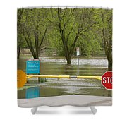 Park Closed Shower Curtain