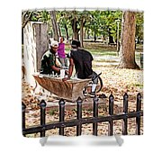 Park Games Shower Curtain