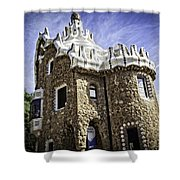 Park Guell - Barcelona - Spain Shower Curtain