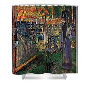 Park Munch Scream  7 Shower Curtain