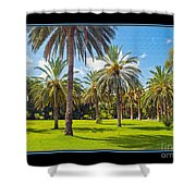 Park Open Area 2 Shower Curtain