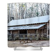 Park Ranger Cabin Shower Curtain