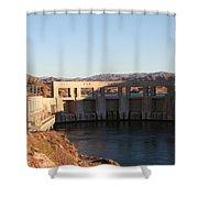 Parker Canyon Dam Shower Curtain
