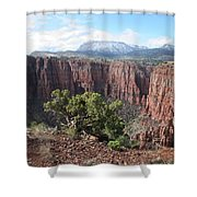 Parker Canyon In The Sierra Ancha Arizona Shower Curtain
