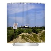 Parking By Permit - Town Of Southhampton Shower Curtain
