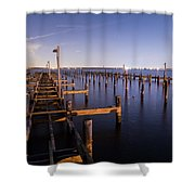 Parking For Miles Shower Curtain