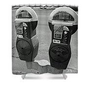 Parking Meters Shower Curtain