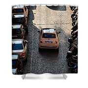 Parking Problems Shower Curtain