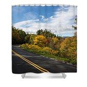 Parkway Milepost 357 Shower Curtain