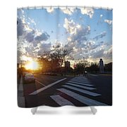 Parkway Sunset Shower Curtain