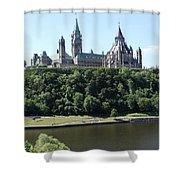 Parliament Hill - Ottawa Shower Curtain