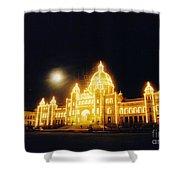 Parliment Building Victoria Shower Curtain